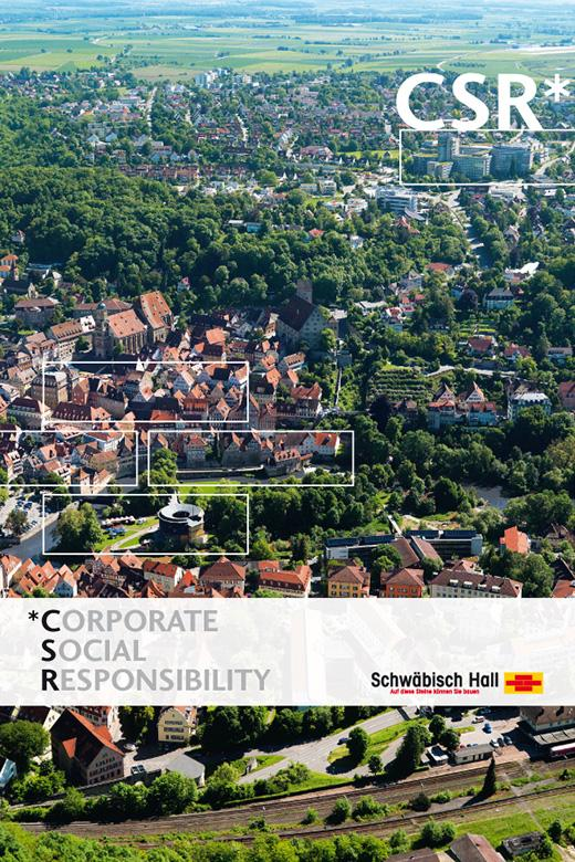 Cover of Corporate Social Responsibility Guidelines of Bausparkasse Schwäbisch Hall