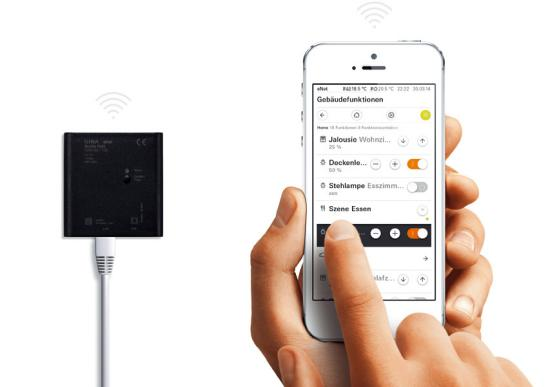 Smart Home-System GIRA und JUNG eNet Mobile-Gate