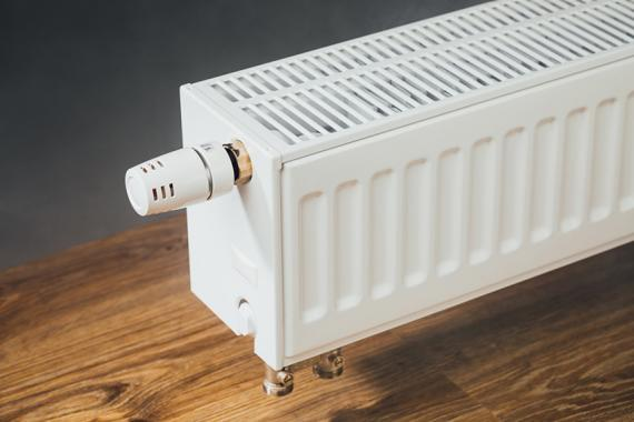 heating radiator at home