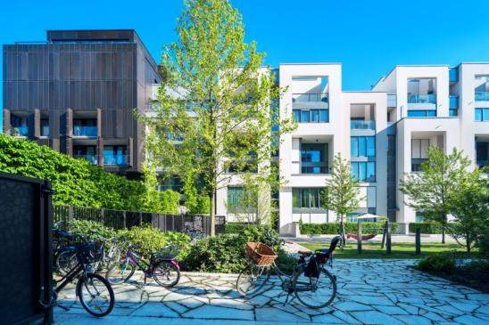 Neues Apartmenthaus in Berlin