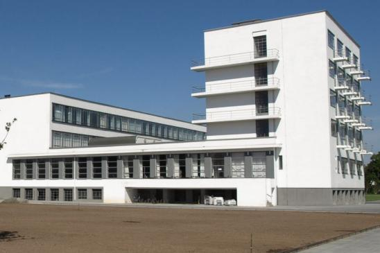 Bauhaus in Dessau, Germany